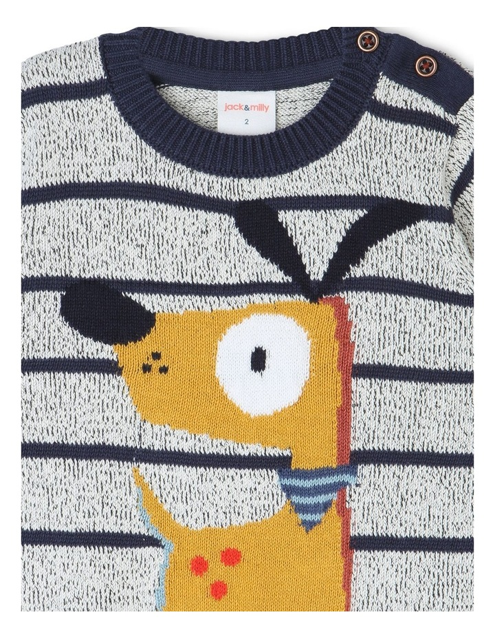 Ollie Knitted Jumper with Intarsia image 2