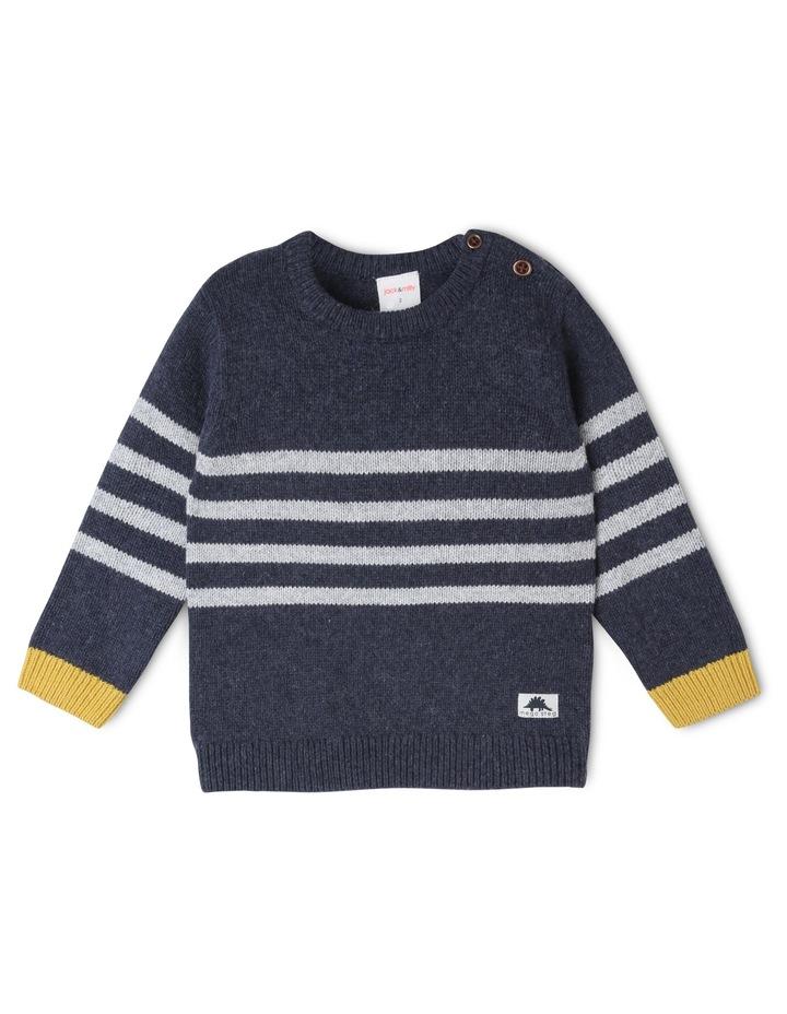 Finn Knitted Stripe Jumper image 1