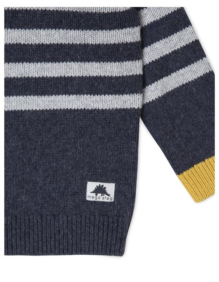Finn Knitted Stripe Jumper image 3