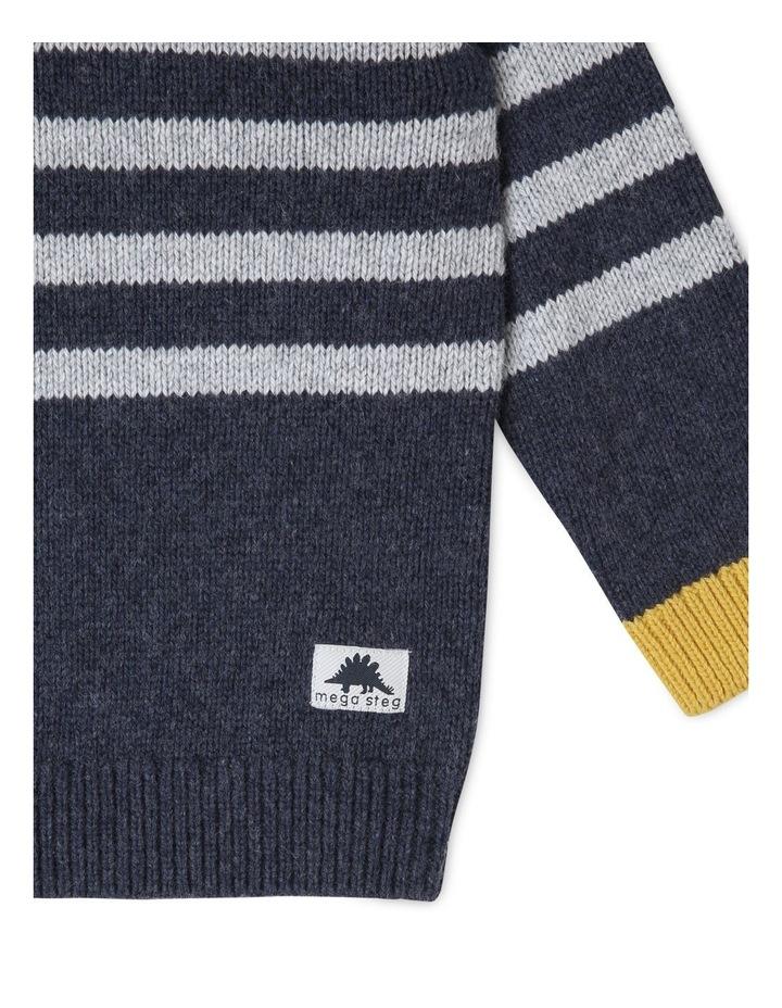 Finn Knitted Stripe Jumper image 4