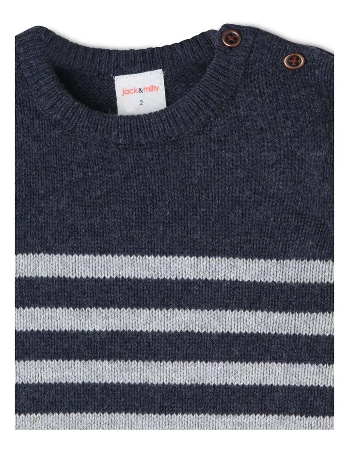 Finn Knitted Stripe Jumper image 6