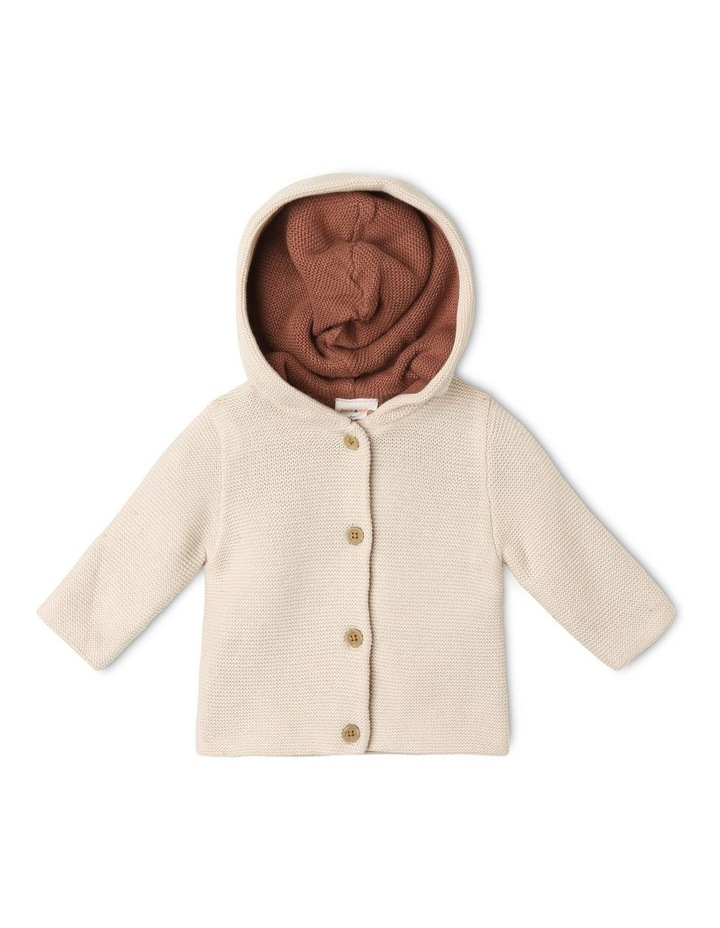 Reversible True Knit Cardigan with Hood image 1