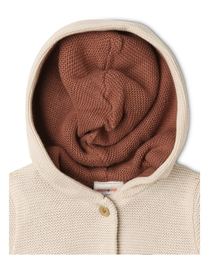 Reversible True Knit Cardigan with Hood image 3