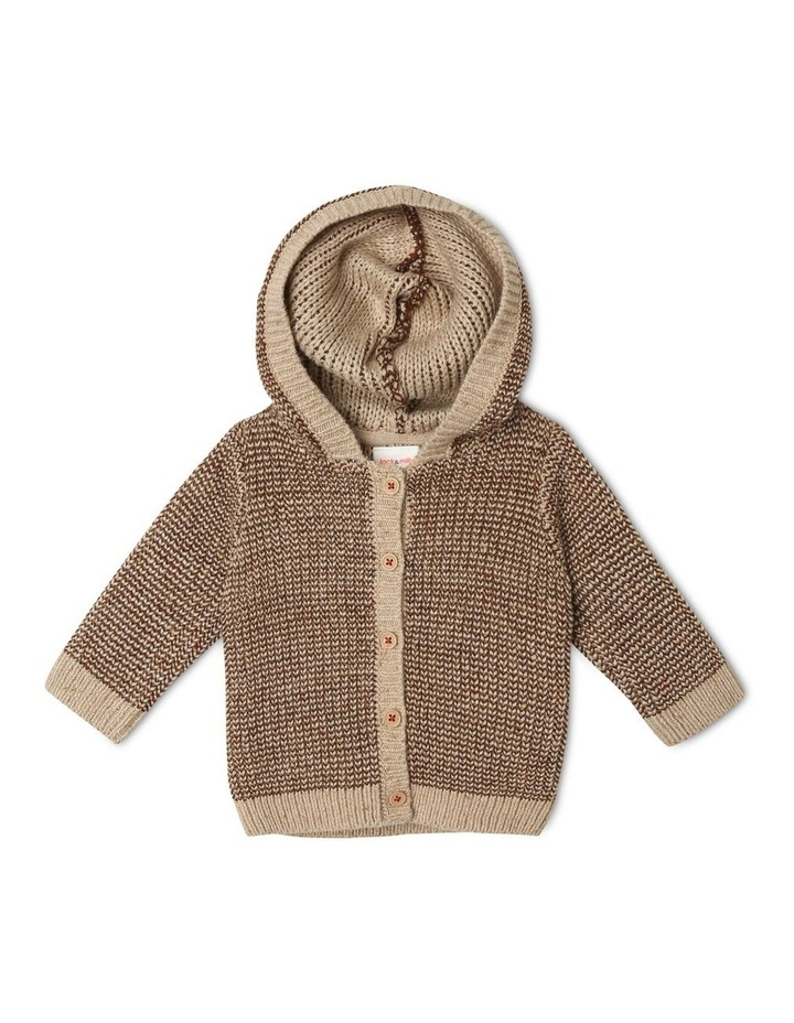Noah Hooded Knitted Cardigan image 1