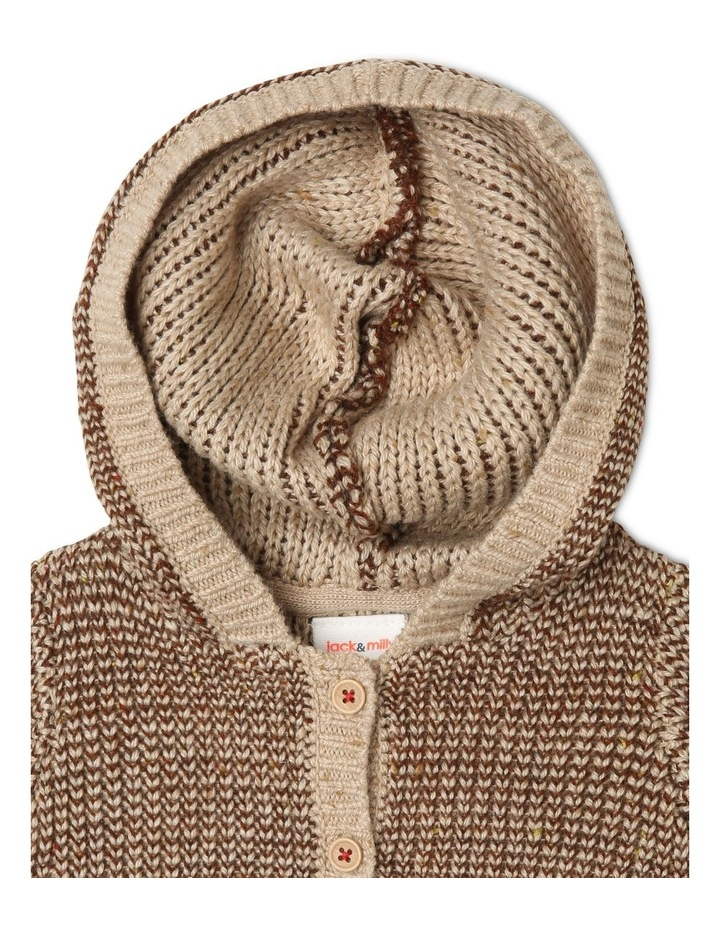 Noah Hooded Knitted Cardigan image 2