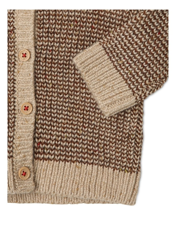 Noah Hooded Knitted Cardigan image 3