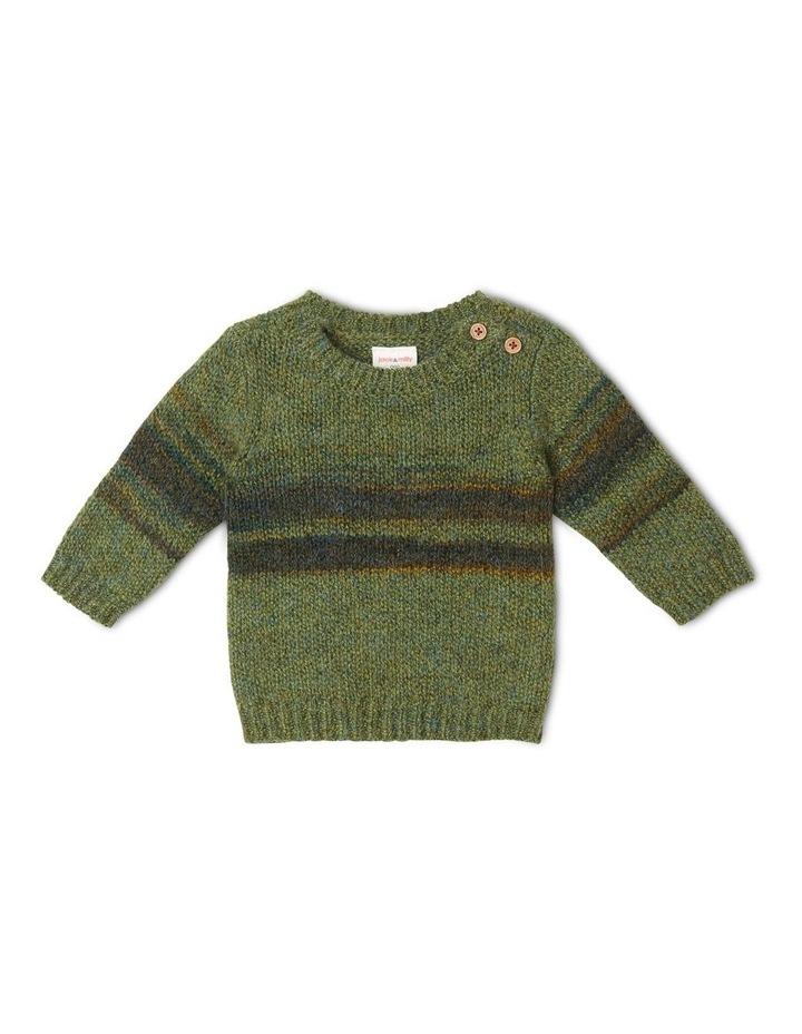 George Knitted Stripe Jumper image 1