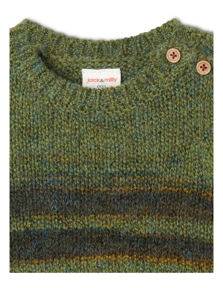 George Knitted Stripe Jumper image 2
