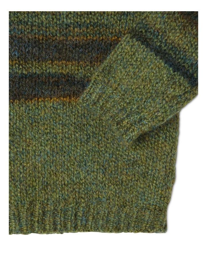 George Knitted Stripe Jumper image 3