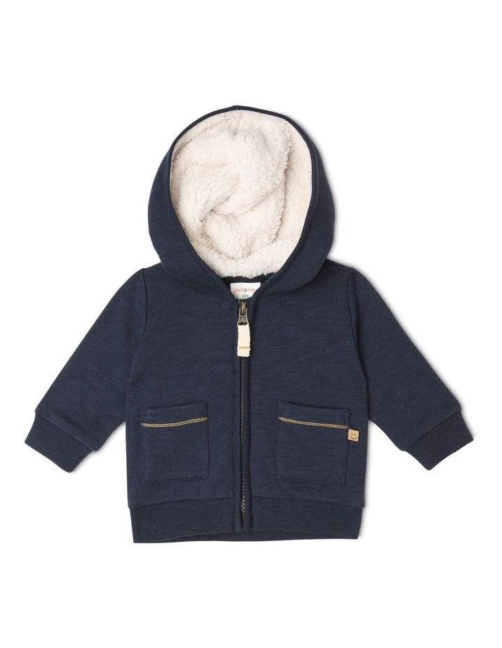 Ringo Zipped Hoodie with Patch Pockets image 1