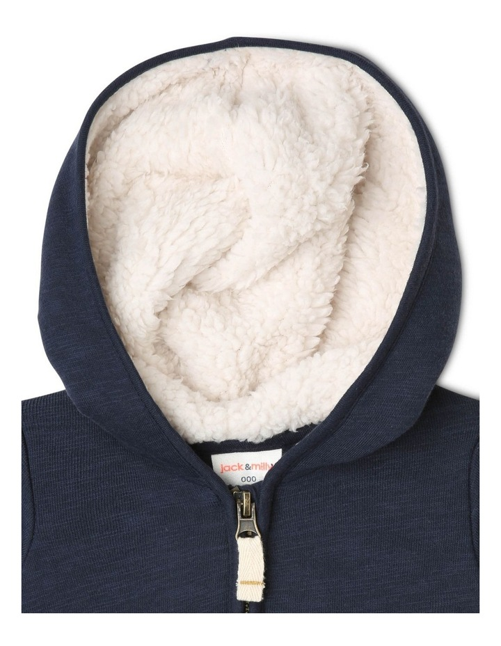 Ringo Zipped Hoodie with Patch Pockets image 2