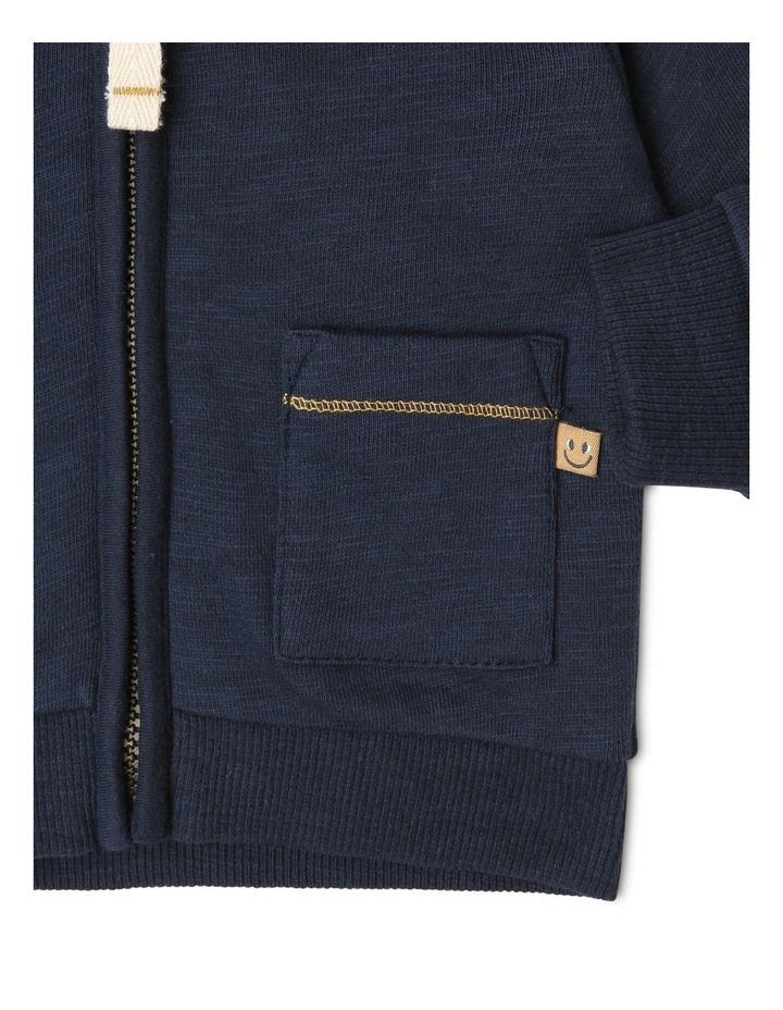 Ringo Zipped Hoodie with Patch Pockets image 3