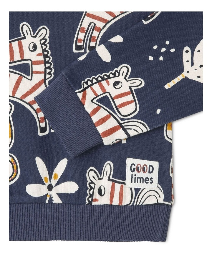 Sparky Long Sleeve Sweat Top image 2