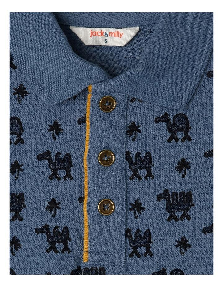 Floyd Yardage Printed Short Sleeve Polo Top image 2