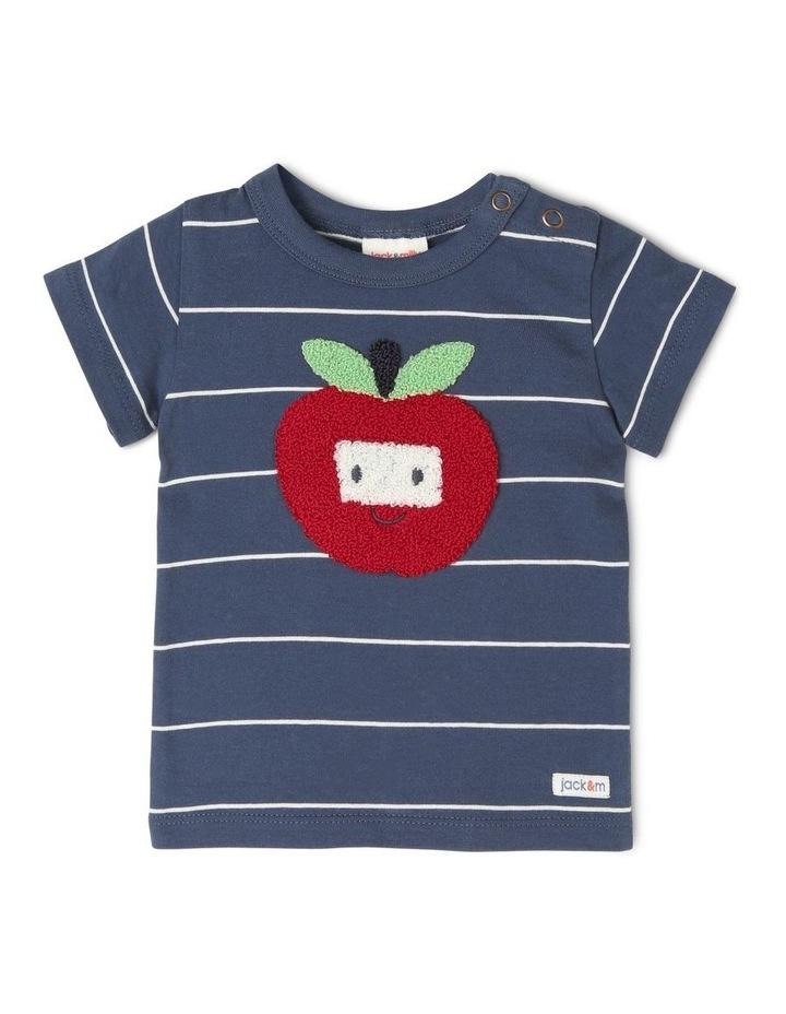 Lenny Short Sleeve Stripe T-Shirt image 1