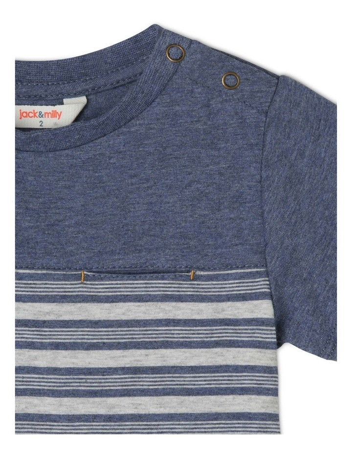 Josh Short Sleeve Stripe T-Shirt image 3