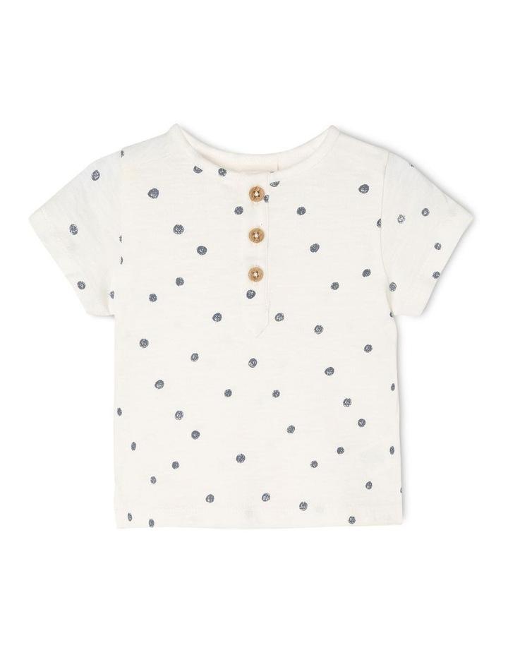 Kit Organic Short Sleeve Knitted T-Shirt image 1