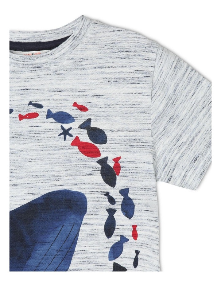 Hugo Short-Sleeve T-Shirt with Wraparound Whale Print image 3
