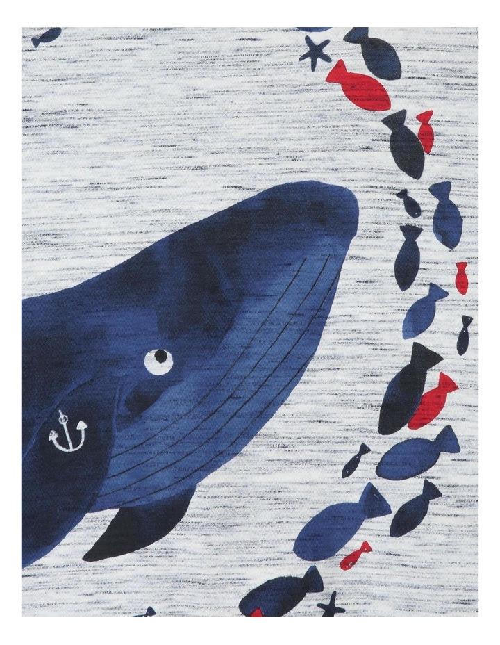 Hugo Short-Sleeve T-Shirt with Wraparound Whale Print image 5