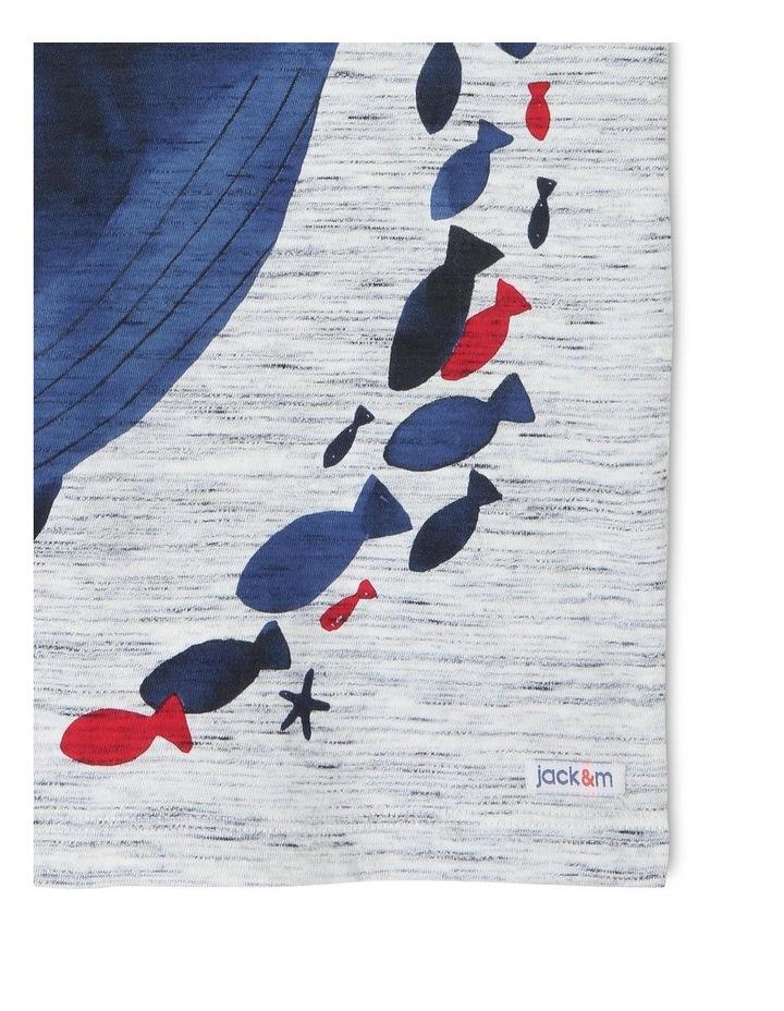 Hugo Short-Sleeve T-Shirt with Wraparound Whale Print image 6