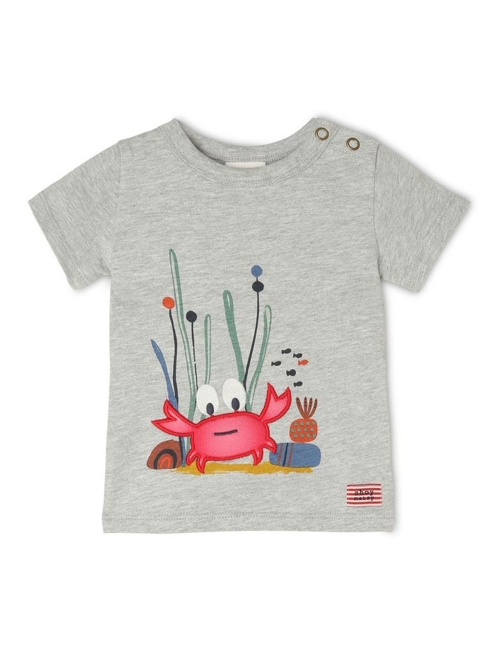 Lenny Short Sleeve T shirt with 3D Crab image 1
