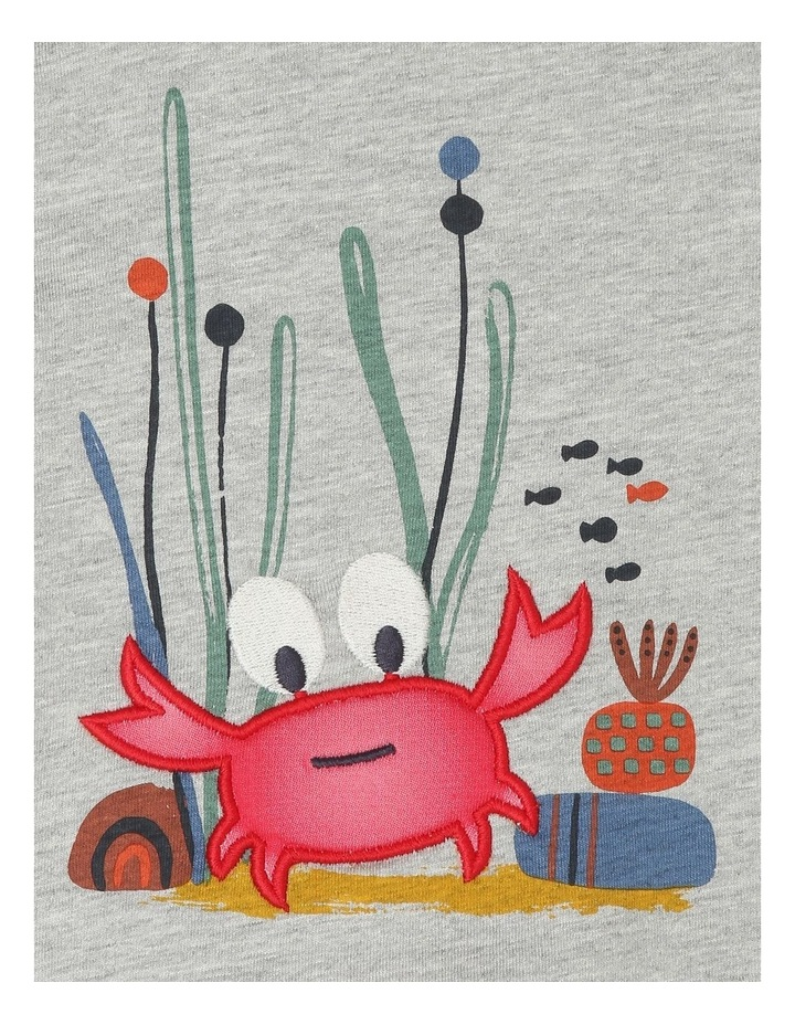 Lenny Short Sleeve T shirt with 3D Crab image 2