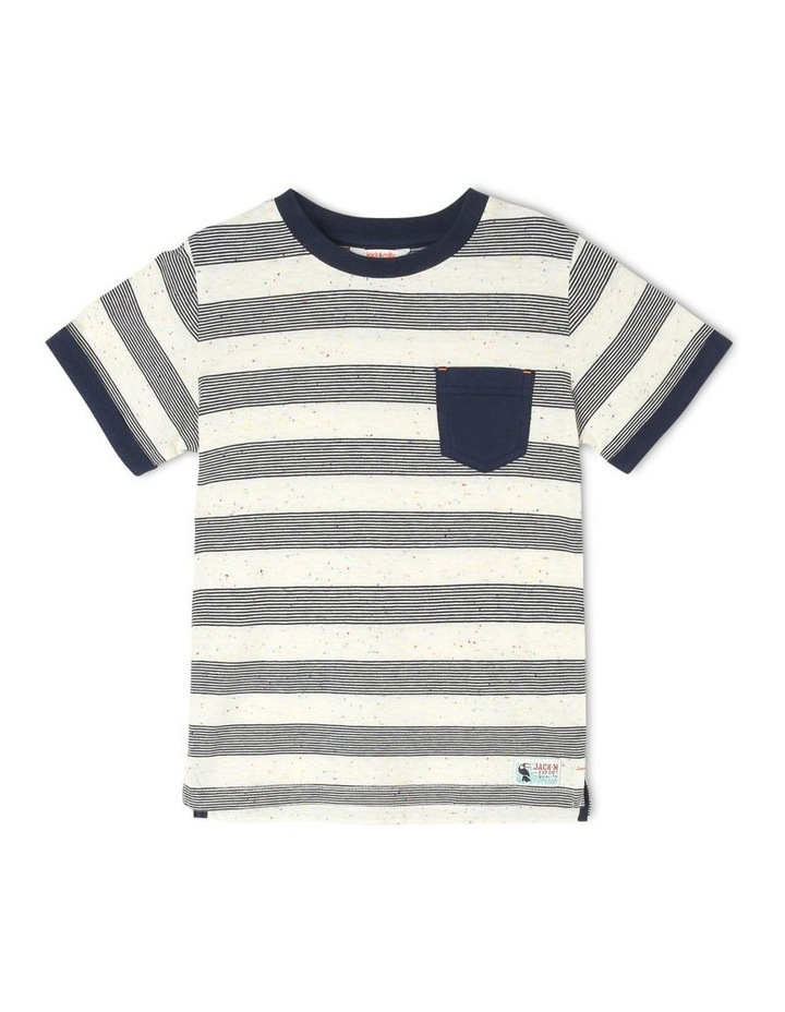 Henry Short-Sleeve Striped T-Shirt image 1