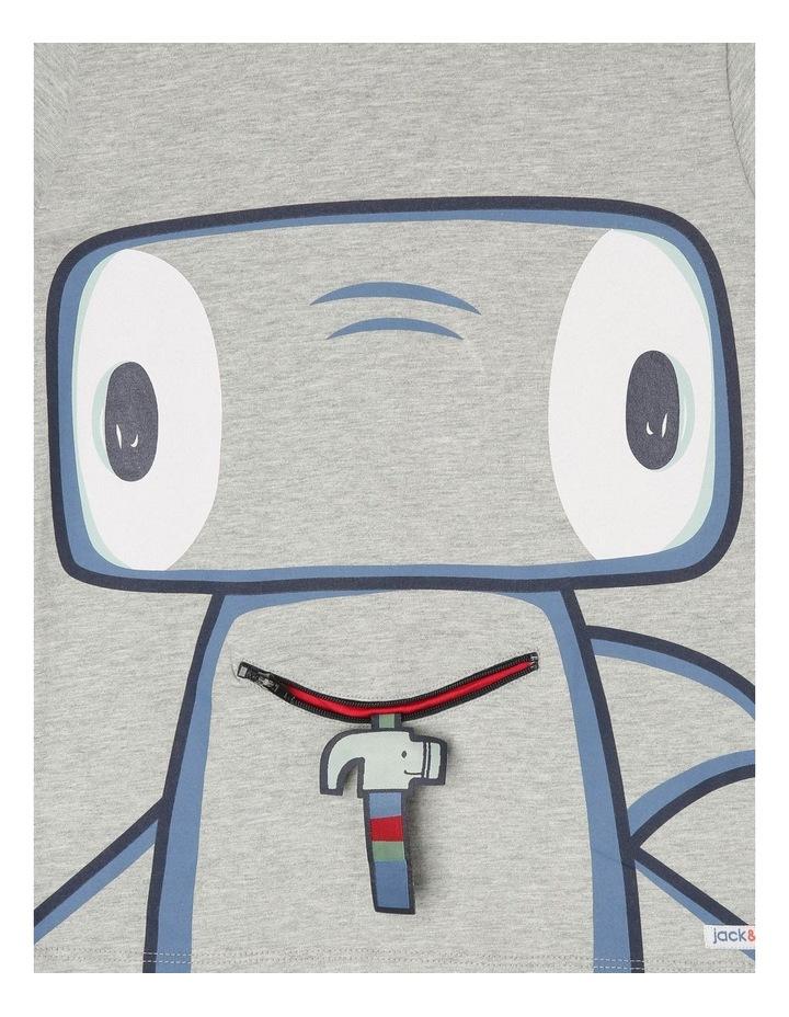 'Hugo' Short-Sleeve T-Shirt - Hammerhead Zip-Mouth image 2