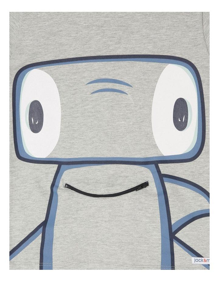 'Hugo' Short-Sleeve T-Shirt - Hammerhead Zip-Mouth image 3