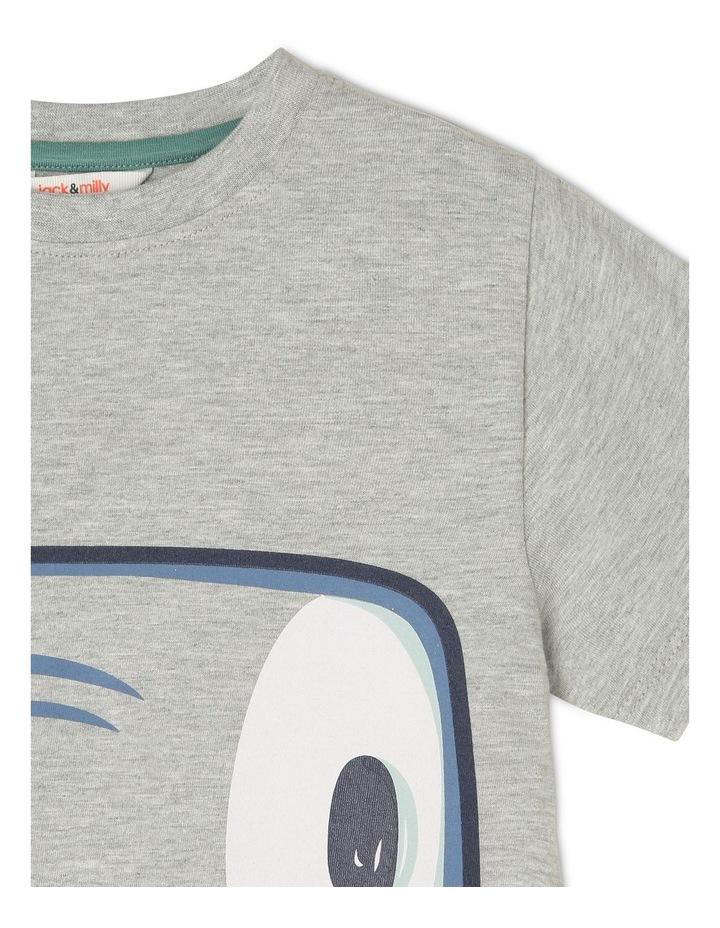 'Hugo' Short-Sleeve T-Shirt - Hammerhead Zip-Mouth image 4