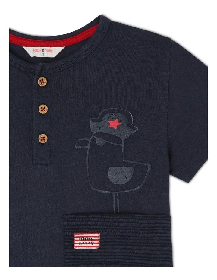 Spencer Short Sleeve Henley T-Shirt image 2