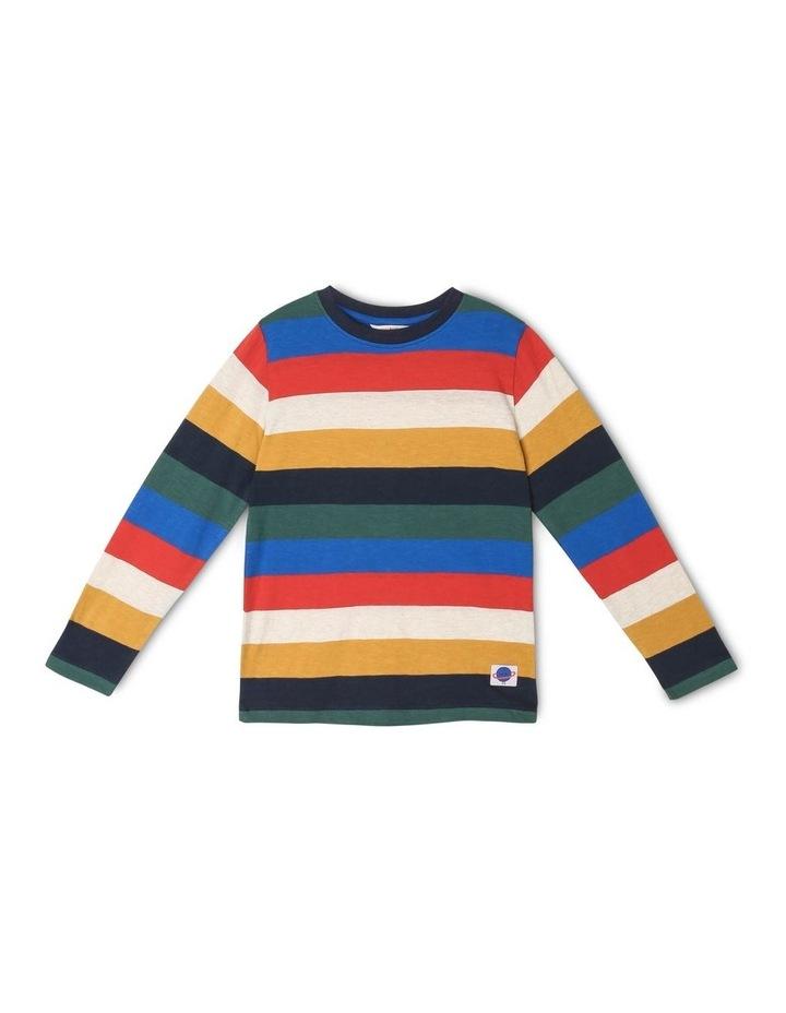 Rocket Long-Sleeve Stripe T-Shirt image 1