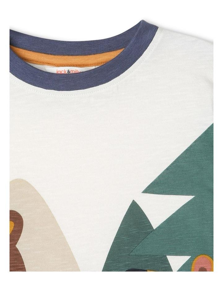Rocket Long-Sleeve Slub T-Shirt image 3
