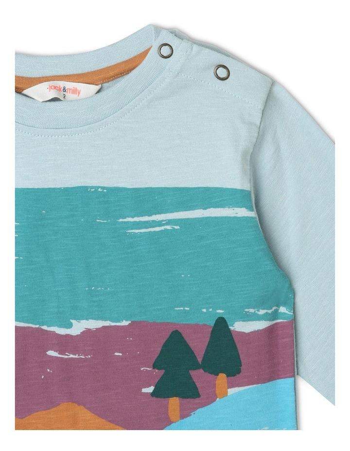 Rocket Long-Sleeve Slub T-Shirt image 4