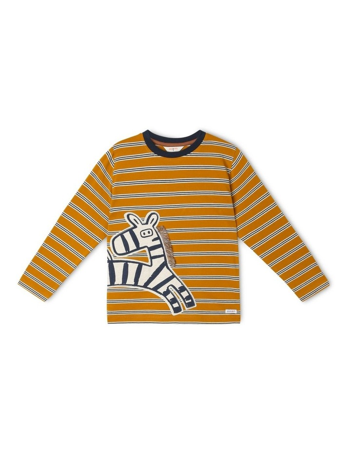 Rocket Long Sleeve Stripe T-Shirt image 1