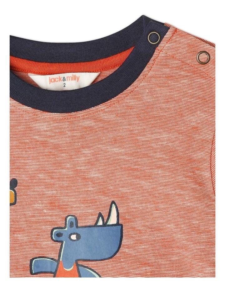 Rocket Long Sleeve Stripe T-Shirt image 2