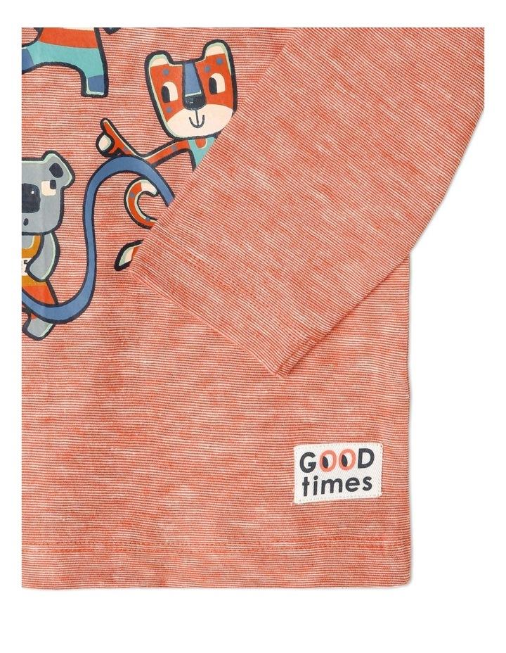 Rocket Long Sleeve Stripe T-Shirt image 4