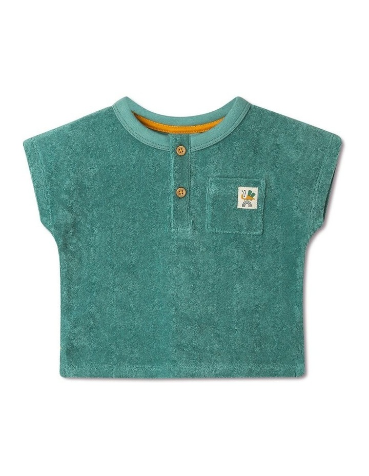 Lenny Short Sleeve T-Shirt With Button Opening image 1