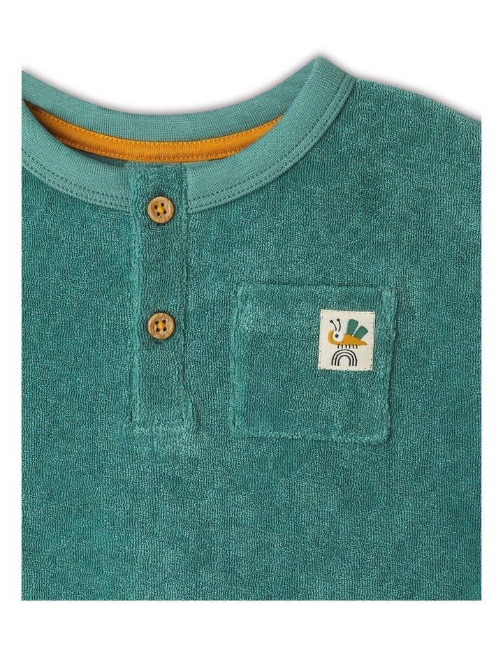 Lenny Short Sleeve T-Shirt With Button Opening image 2