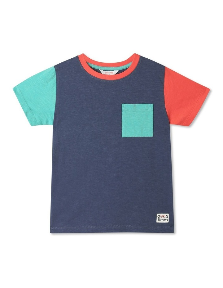 Finn Knit Stripe T-shirt image 1