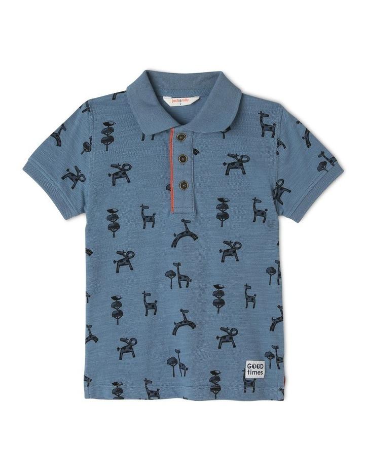 Floyd Short Sleeve Polo Tee image 1