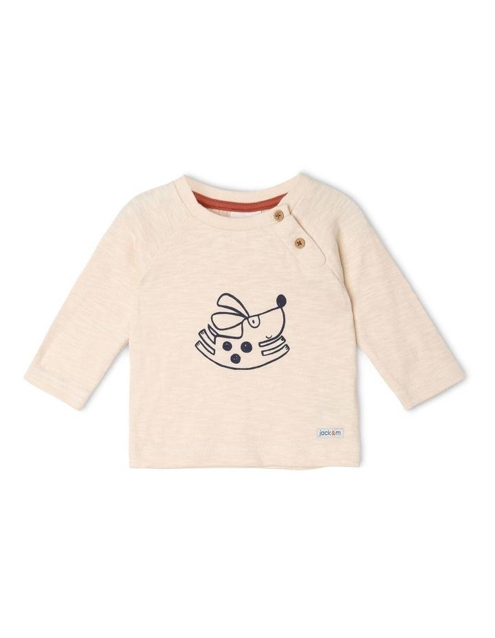 Freddie Long-Sleeve Knit T-Shirt image 1