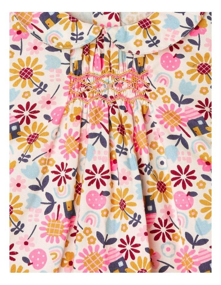 Clara Long-Sleeve Blouse with Smocking Detail image 2