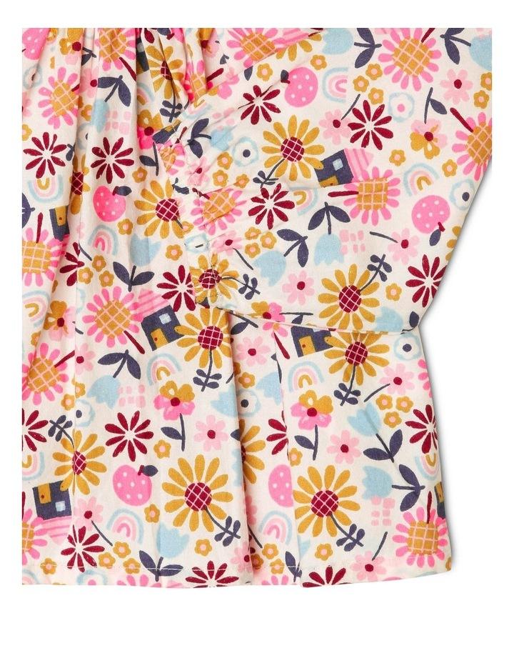 Clara Long-Sleeve Blouse with Smocking Detail image 3