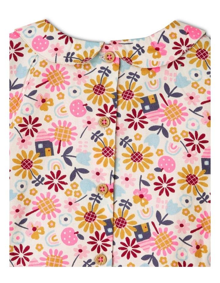 Clara Long-Sleeve Blouse with Smocking Detail image 4