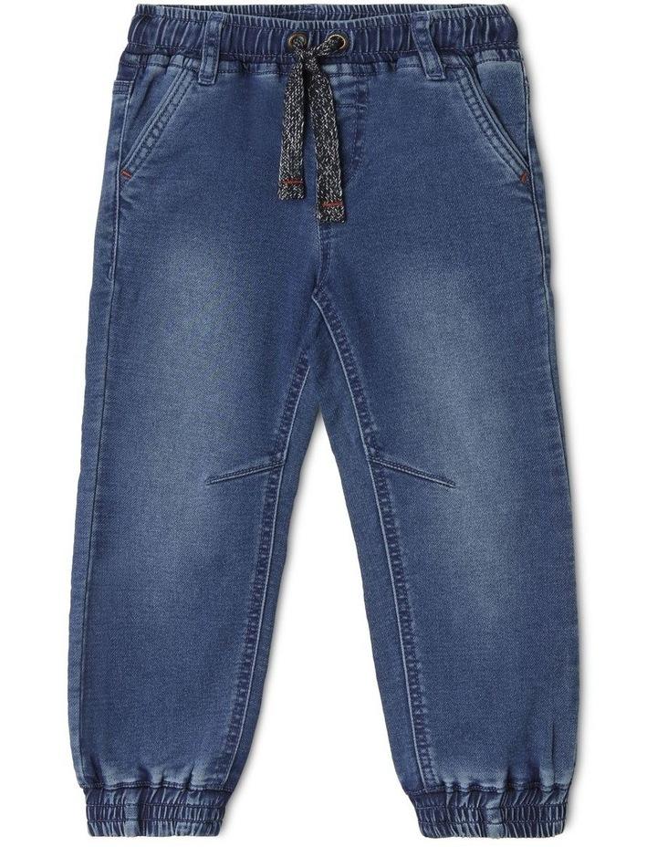 Kit Cuffed Knit Denim Jean image 1
