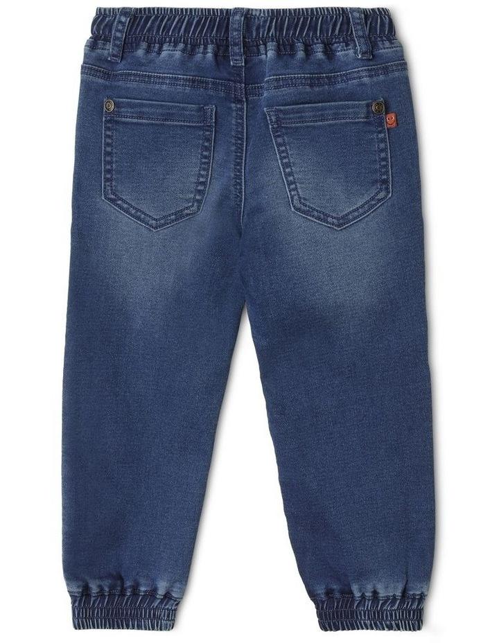 Kit Cuffed Knit Denim Jean image 2