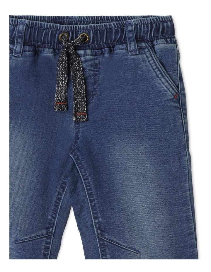 Kit Cuffed Knit Denim Jean image 3
