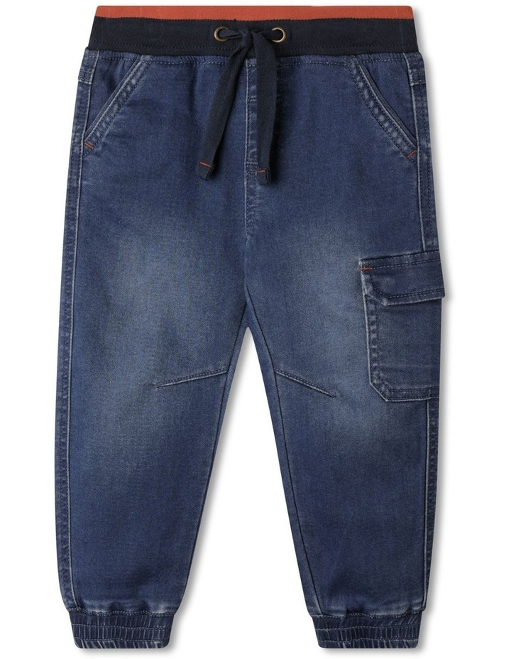Bob Knit Denim Pants image 1