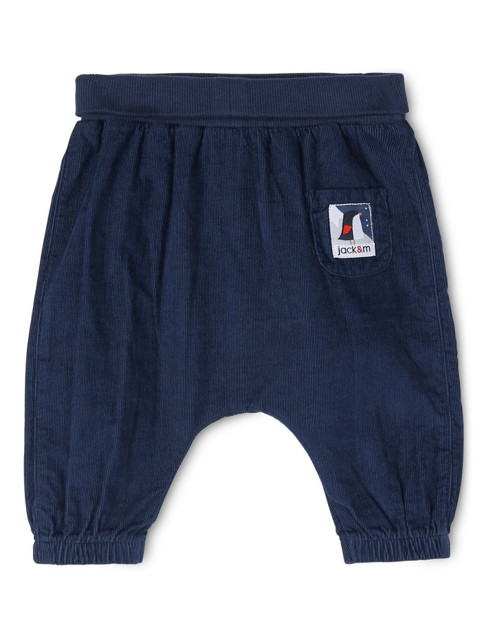 Kit Babycord Woven Pant With Rolled Rib Waist image 1